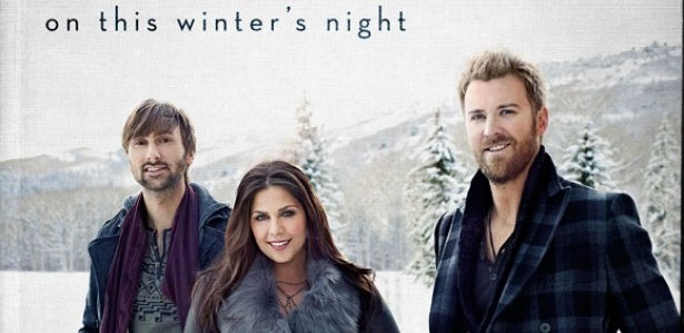 Lady-Antebellum-On-This-Winters-Night-Cover