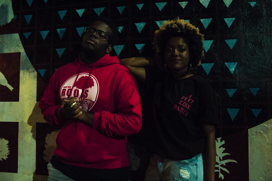 From left: Haywood McDuffie and Darriea Clark | photo by Madeleine Fournier/Matt Prussin