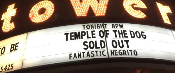 Temple of the Dog at the Tower Theater   photo by Emily Kelly